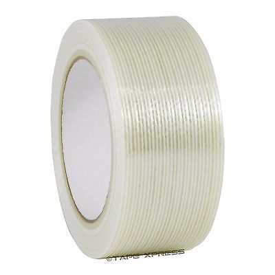 2 X 60 Yd Filament Reinforced Strapping Fiberglass Tape 3.9 Mil Free Shipping
