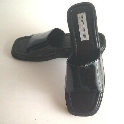 Bellini Open Toe Platform Slides Flip Flops Size 10M Fits 9 Insole Only 10