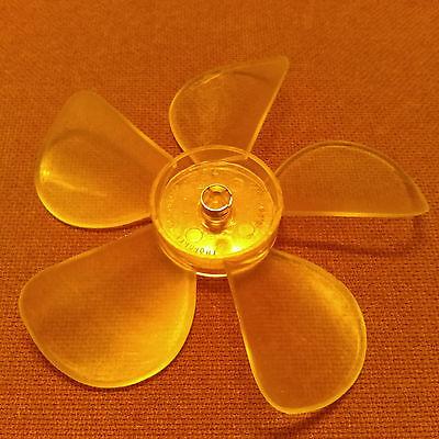 5-916 Inch Diameter Plastic Fan Bladepropeller. 316 Inch Bore. Ccw Rotation.