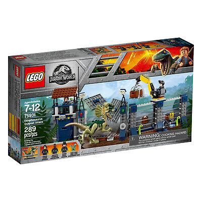 Lego 75931 Jurassic World Dilophosaurus Outpost Attack