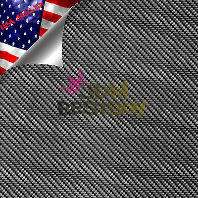 19x78 Hydrographic Film Hydro Dipping Dip Water Transfer Black Carbon Fiber 6