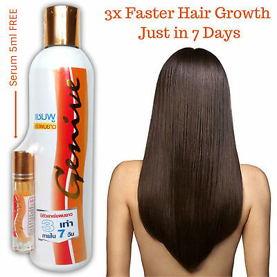 Best!! Long Hair Fast Growth Shampoo Helps Your Hair to Lengthen Grow