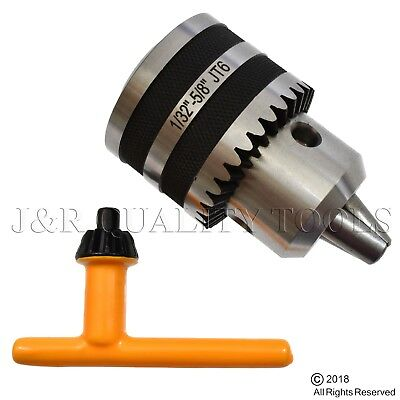 Replacement Drill Chuck For Drill Press Jt6 Jt 6 Jacobs Taper