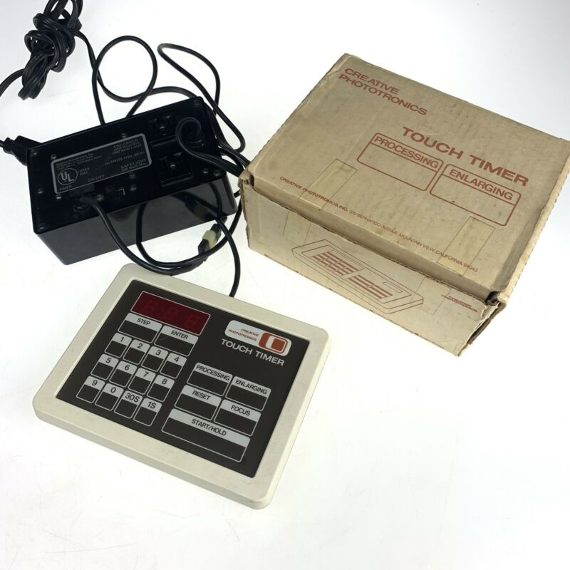 CREATIVE PHOTOTRONICS Digital TOUCH TIMER & CP900 POWER PACK IN BOX