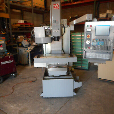 Haas Cnc Toolroom Mill 10 Position Tool Changer
