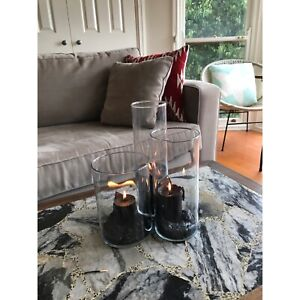 Candle jars - centrepieces (also can be vases)