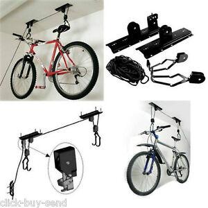 BIKE-LIFT-BIKE-RACK-BIKE-HANGER-BIKE-STORAGE-BIKE-STORE-BIKE-HOIST-BICYCLE-NEW