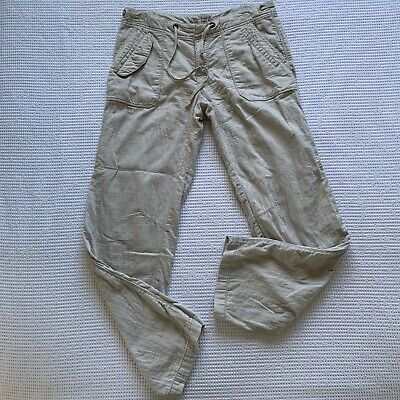 Anthropologie Hei Hei Cargo Lightweight Pants W/ Pockets Size 10 EEUC