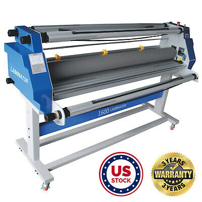 Usa - 63 1600mm Hot Cold Roll Laminator Full-auto Wide Rool Laminating Machine
