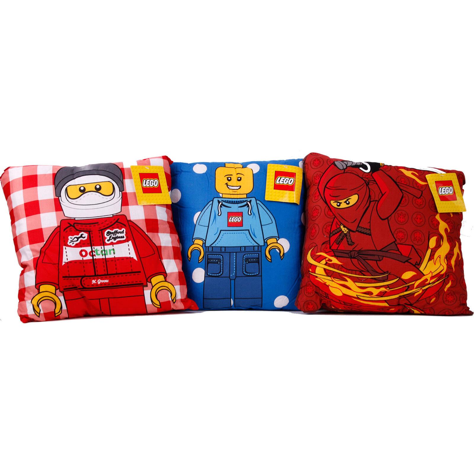 Lego Kissen Kopfkissen Bettwäsche 3er Set Kissenbezug Kissen Bezug Kissenhülle