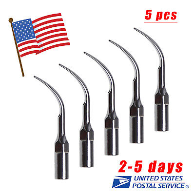 5 Skysea Dental Ultrasonic Piezo Scaler Tip Tips For Ems Woodpeck Handpiece G1
