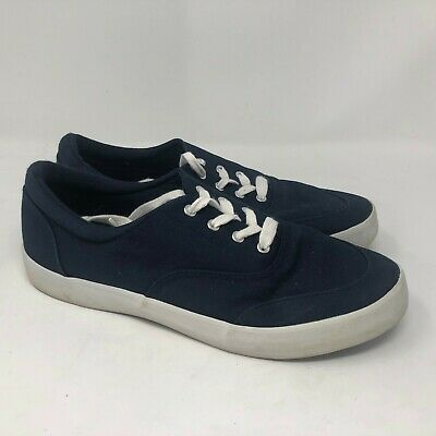 Champion sport comfort canvas shoes mens navy sz 10   for sale  Shipping to India