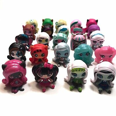 Monster High Minis Toy Doll Figure Huge Lot Of 24 - Includes Rare And Common Mix