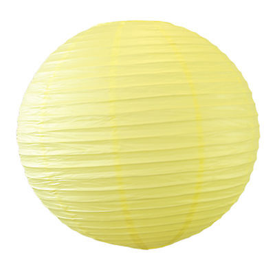 24 Large Yellow Chinese Paper Lanterns Wedding Decorations 12 inch Round