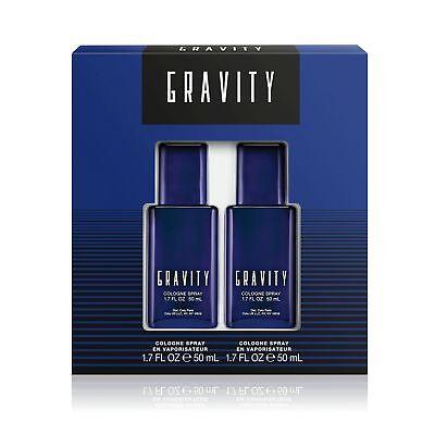 Gravity Cologne Coty Men Set 2 Piece Gift Set 1 7   1 7  50 Ml Edc Spray Nib