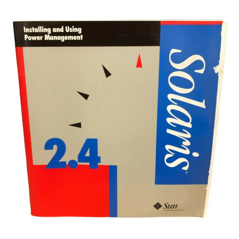 SUN 2.4 SOLARIS INSTALLING AND USING POWER MANAGEMENT MANUAL