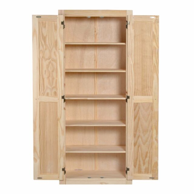 72 inch kitchen pantry cabinet cupboard storage 2 doors tall