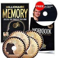 Millionaire Memoria Programmare Unleash The Power Of Your Mind Treno Cervello -  - ebay.it
