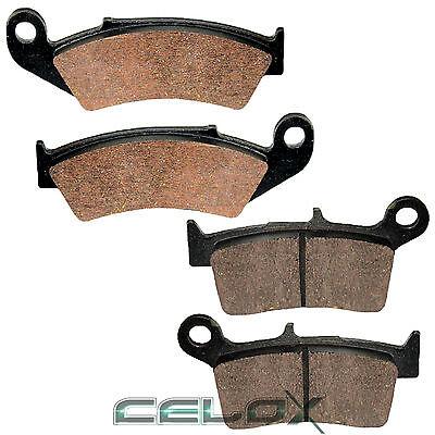 Front Rear Brake Pads For Honda CR125R 1995 1996 1997 1998 1999 2000 2001