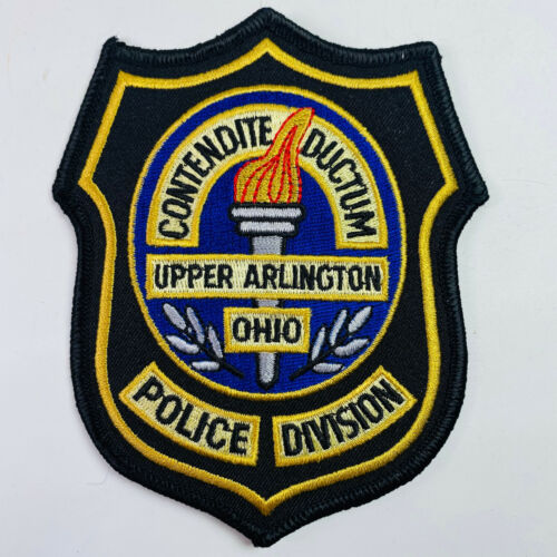 Upper Arlington Police Division Franklin County Ohio OH Patch (B6-B)