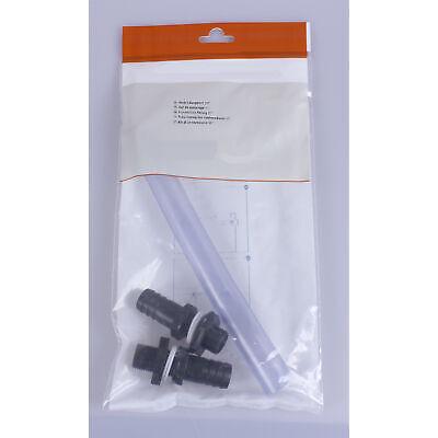 Graf Universal Regentonnen-Verbinder 1/2 Zoll 13mm Fass Tank Verbindung Überlauf