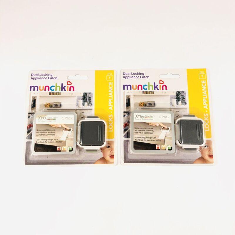 Dual Locking Appliance Latch Lot Of 2  By Munchkin Brand New
