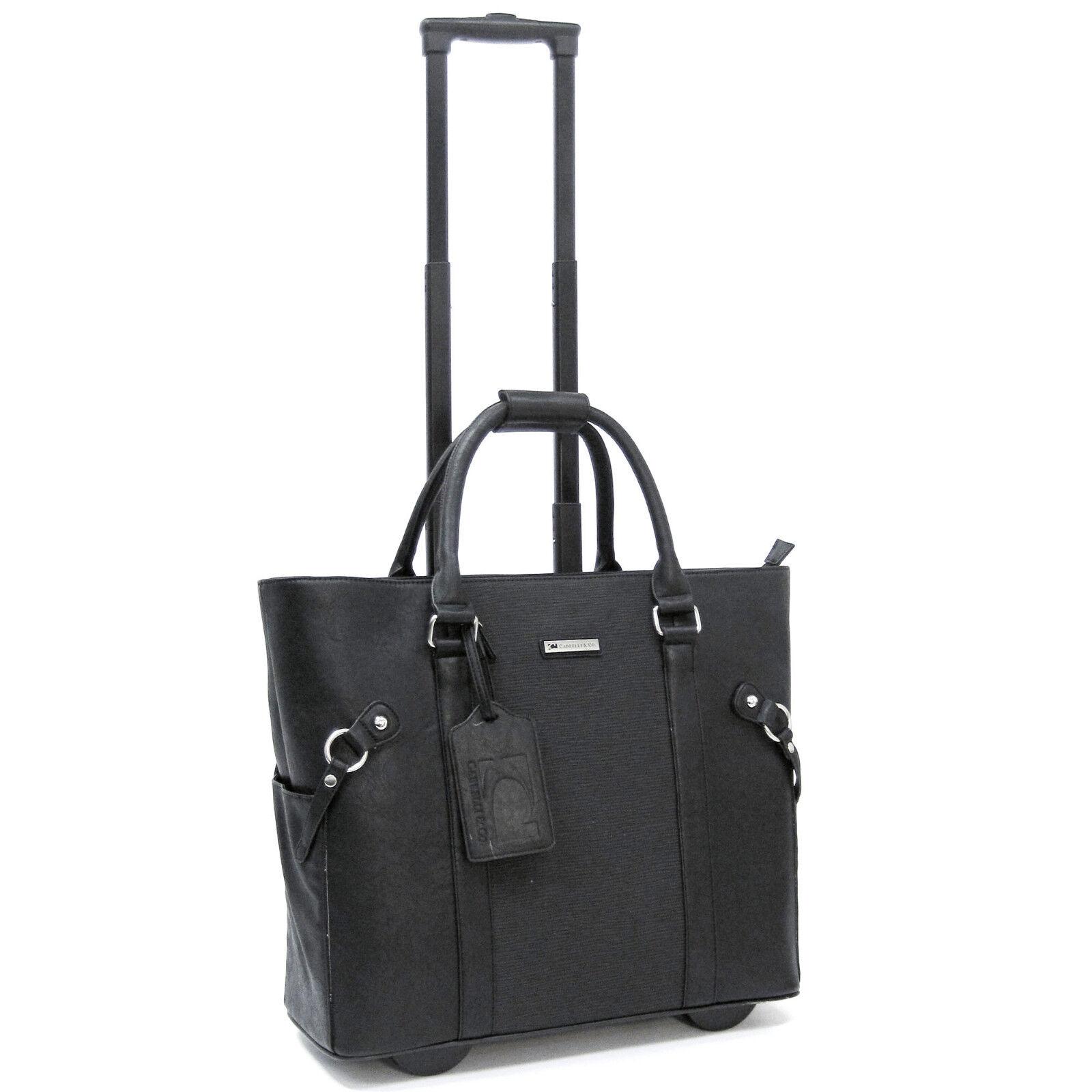 Cabrelli Lacy Lizard Women S Rolling Laptop Bag Wheeled Briefcase Case 716034u