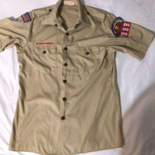 Official BSA Boy Scout tan uniform shirt  Y X Large Grand Canyon Council