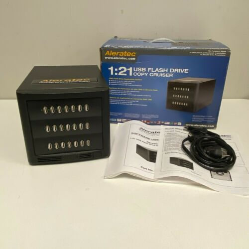 Aleratec 1:21 USB Flash Drive Copy Cruiser -8084 TESTED AND WORKING W/ BOX