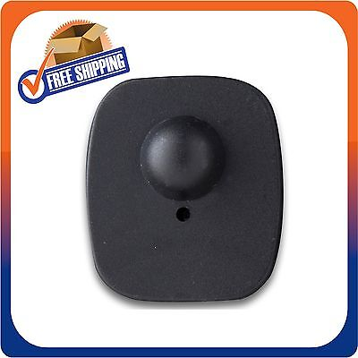 1000 Checkpoint Security Compatible Rf Mini Tag Black 82mhz Eas Pin Not Included