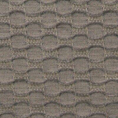 Ballard Designs Dimple Dove Gray Sunbrella Geometric Outdoor Fabric Bty 54 W