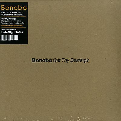 "Bonobo - Get Thy Bearings (ALN1034) Limited Clear 10"" Vinyl NEW+OVP!!!"