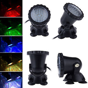 multicolor 36 led submersible projecteur lampe eclairage eau aquarium spot light ebay. Black Bedroom Furniture Sets. Home Design Ideas