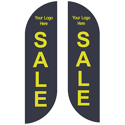 Feather Flag SALE Decorative Banner sign Kit Banner Advertising - NO CHINA ()