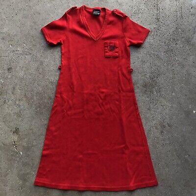 Vtg GIVENCHY Children's Dress for Little Tantrum's Sz M (10-12) Made in USA RARE