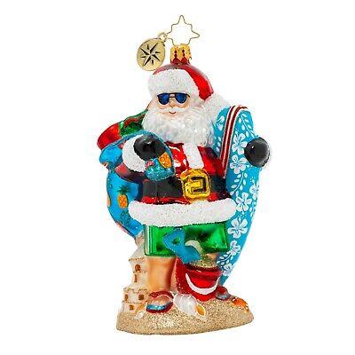 [NEW Christopher Radko SHREDDING THE GNAR Christmas Ornament 1020425</Title]