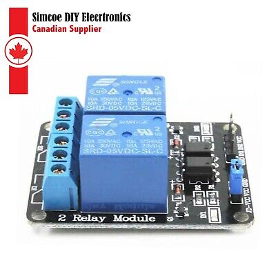 2 Channels Module Relay 5v Relay Module Pour Arduino Raspberry Pi And Pic 439