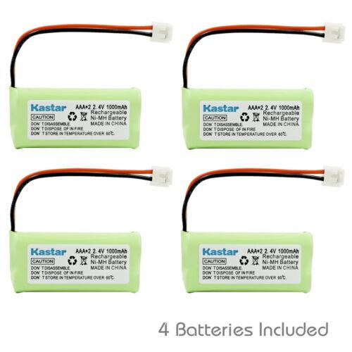 Kastar 4 Cordless Home Phone Battery for AT&T Lucent BT18433 BT28433 BT1011 3101