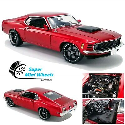 ACME 1:18 1970 429 BOSS Mustang Street Fighter (Candy Red)