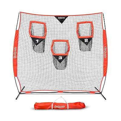 GoSports 8' x 8' Football Trainer Throwing Net | Improve QB Throwing Accuracy