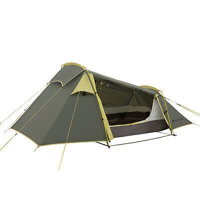 Qeedo Light Spruce 2, Trekkingzelt für 2 Personen, Ultra Leicht und Kompakt