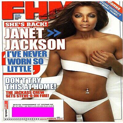 JANET JACKSON FHM Magazine October 2006 Issue 72