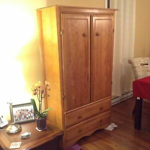 Chest dresser/wardrobe/armoire bedroom furniture
