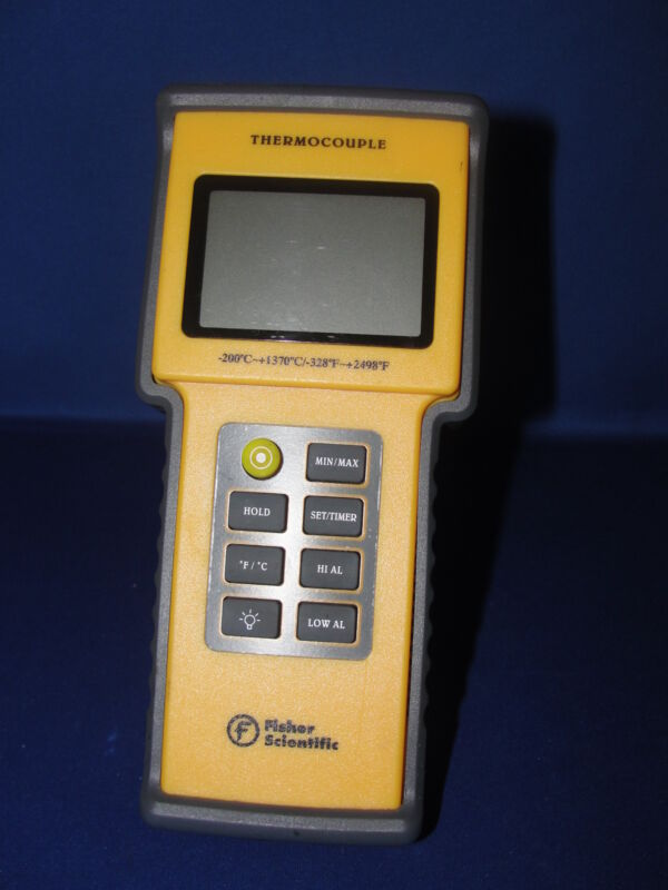 Fisher Scientific Thermocouple 15-077-14 Traceable Thermometer
