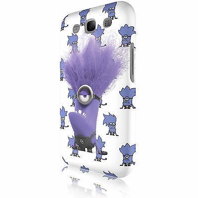 Minions Monster Snap-On Handy Cover Case Schutzhülle Samsung Galaxy S3 i9300 #EV Handy Snap Case