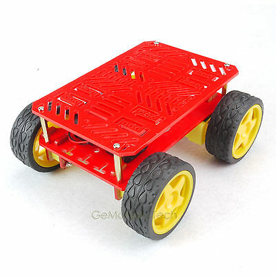 4 Wheel Heavy Duty Basis Drive Mobile Robot Platform