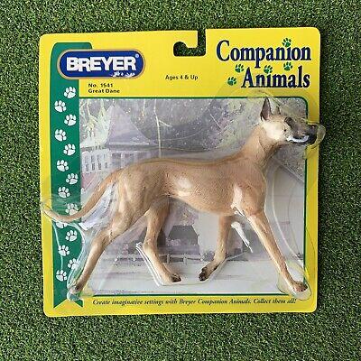 Breyer Companion Animal Fawn GREAT DANE Dog figurine retired New Sealed No.1541