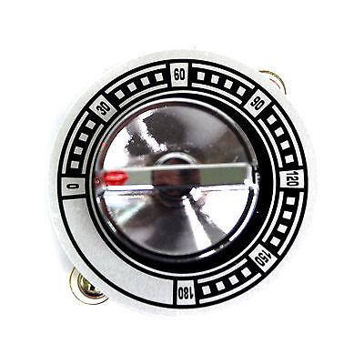 1pc 180 Minutes Mechanical Timer 63a 125250vac 68mm -1060 No Ring Taiwan