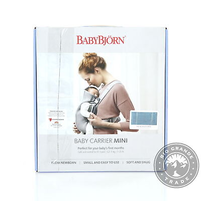 OPEN BOX BabyBjörn 021031US Baby Lightweight Carrier Mini i