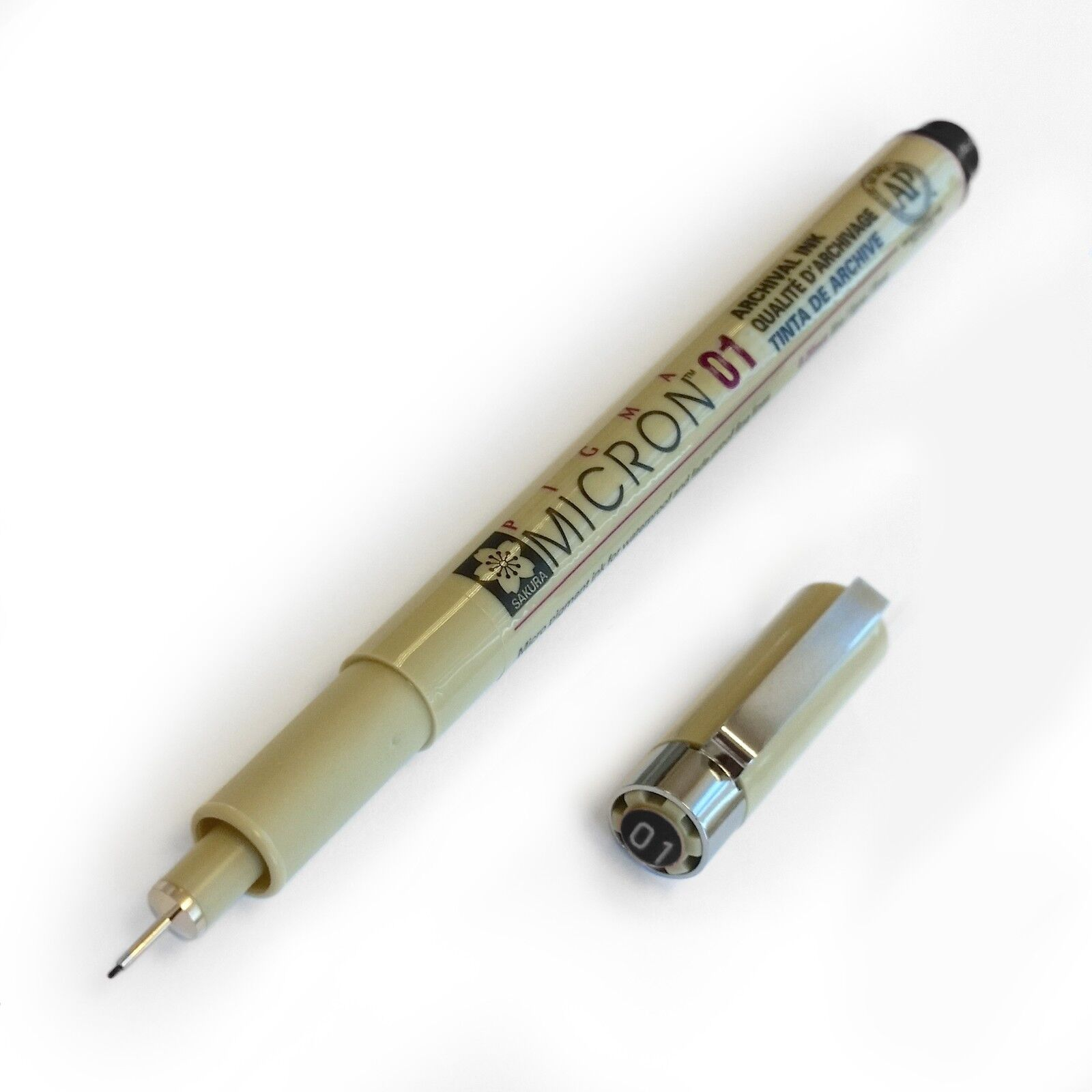 Sakura Pigma Micron Fineliner (01) 0.25mm line - All Colours Available